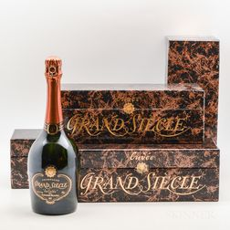 Laurent Perrier Grand Siecle La Cuvee NV, 4 bottles (ind. pc)